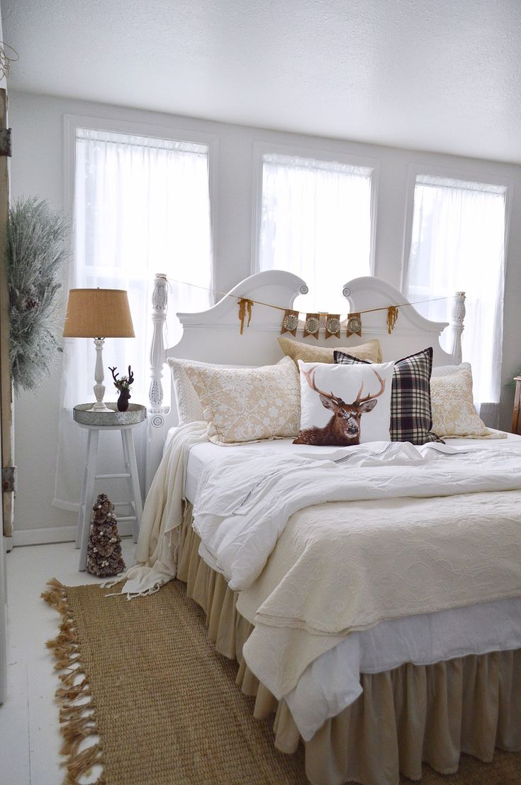 Christmas Guest Bedroom At The Little Cottage Painted