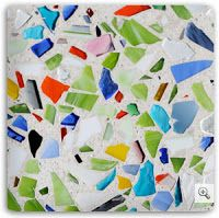 Simply Irresistible...Designs!: Recycled Glass for Countertops by Vetrazzo