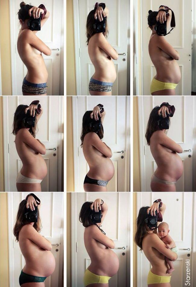 Tomar fotos del crecimiento de tu barriga es una manera entrañable y divertida de documentar la evolución de tu embarazo, en especial en el último trimestre, donde tu cuerpo cambiará mucho. Te...