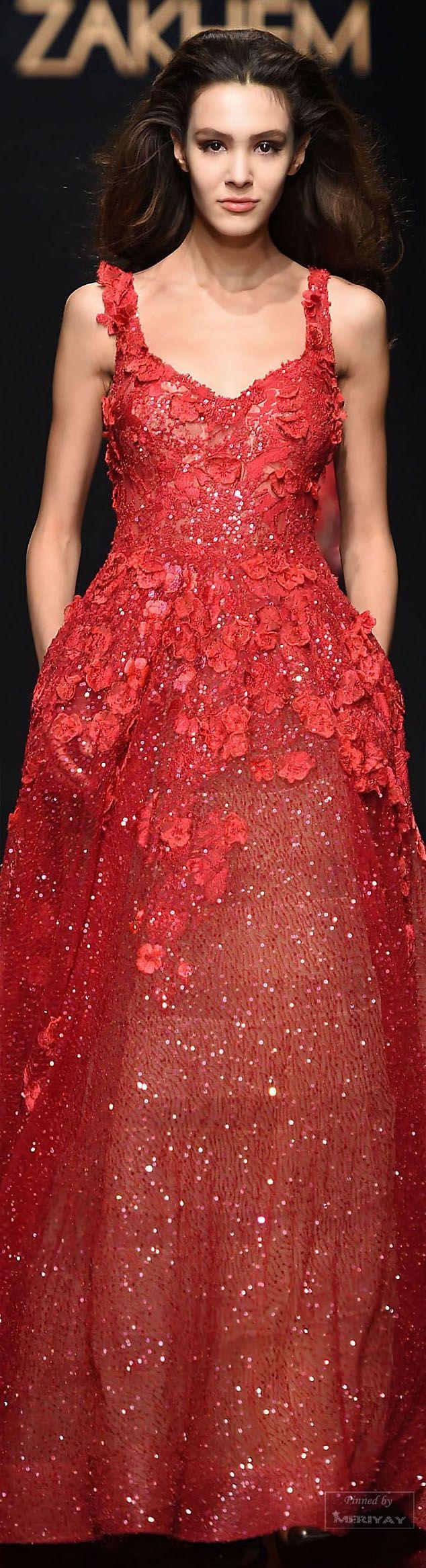Rani Zakhem .Spring-summer 2015 - Couture. |╰☆╮ZPeacocks...╰☆╮|