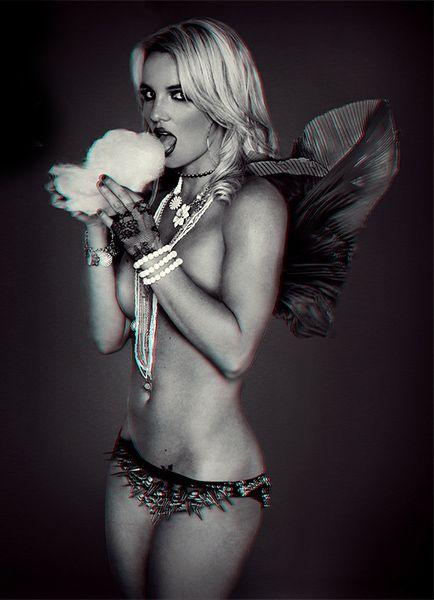 Britney Spears. Naughty fairy