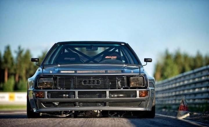 Audi Quattro that is just awesome.