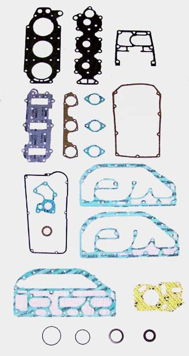 0385416 03886 WSM Johnson Evinrude 60-75 Hp Gasket Kit w// Crank Seals 500-135