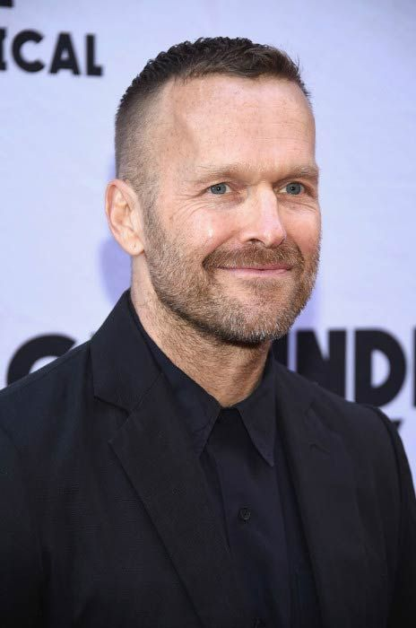 Bob Harper at the Groundhog Day Broadway Opening Night in April 2017...