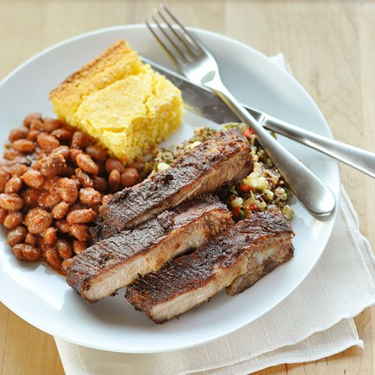 RIBS: I do believe I've finally cracked the code to making perfectly tender and mouth-watering barbecued ribs in the oven.