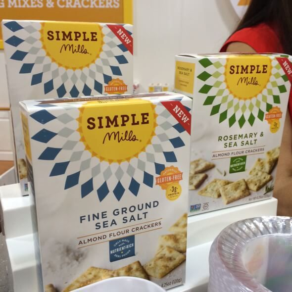 Simple Mills Almond Flour Crackers - New Real Food Snacks + Other Products (hitting shelves soon!) on 100 Days of Real Food