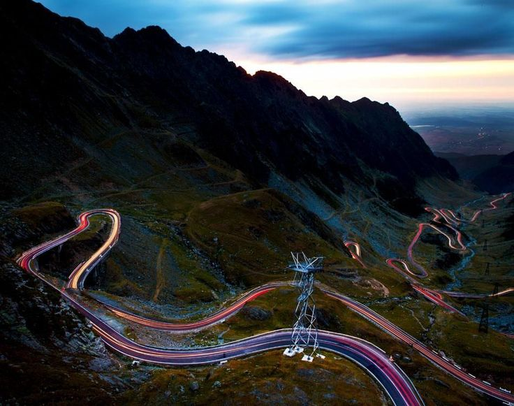 Panorama of Transfagarasan Highway which crosses Fagarasi Mountains at 2000 m altitude, Romania. | Discover Amazing Romania through 44 Spectacular Photos