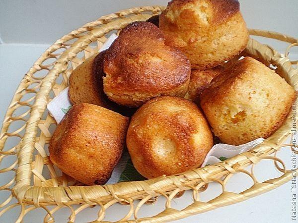 Медовые кексы с апельсином / Рецепты с фото