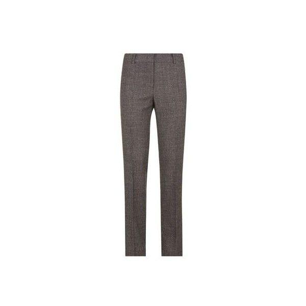 MaxMara Weekend Tuxedo Stripe Cigarette Trousers (1.595 DKK) via Polyvore featuring pants, cigarette trousers, tuxedo stripe pants, weekend max mara and cigarette pants