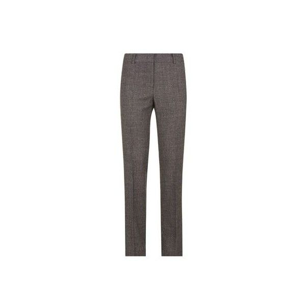 MaxMara Weekend Tuxedo Stripe Cigarette Trousers (1.595 DKK) via Polyvore featuring pants, cigarette trousers, tuxedo stripe pants, weekend max mara and cigarette pants