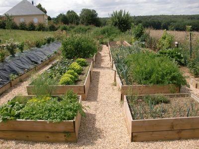 Potager en carr mois de juillet vous avez plant un potager au carr jardini re bacs a for Potager en carre prix