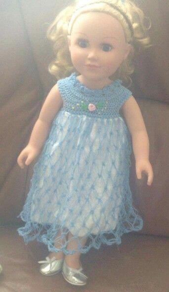 "18"" dolls nightgown"