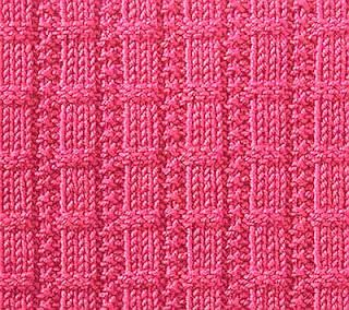 Knitting Galore: Saturday Stitch: Waffle Ribs