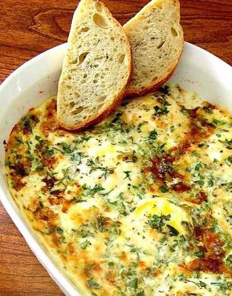 Herb Baked Eggs. I'm a huge fan of Ina Garten. I love her delicious and simple approach to French food. This is one of my favourites.