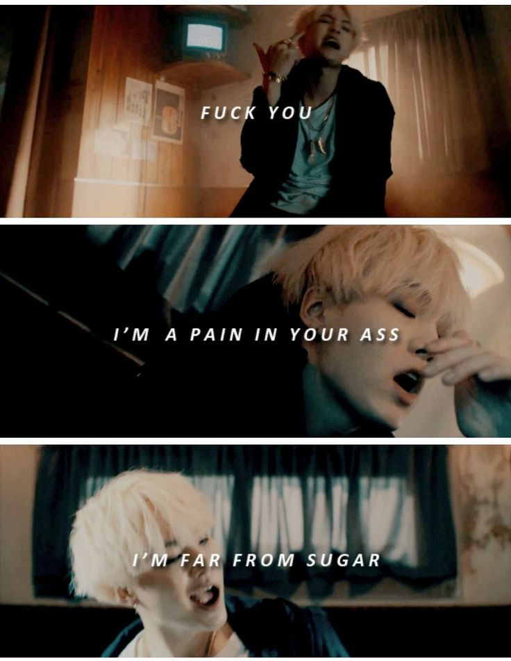 Suga is far from sugar ❤ Agust D 'Agust D' MV #BTS #방탄소년단