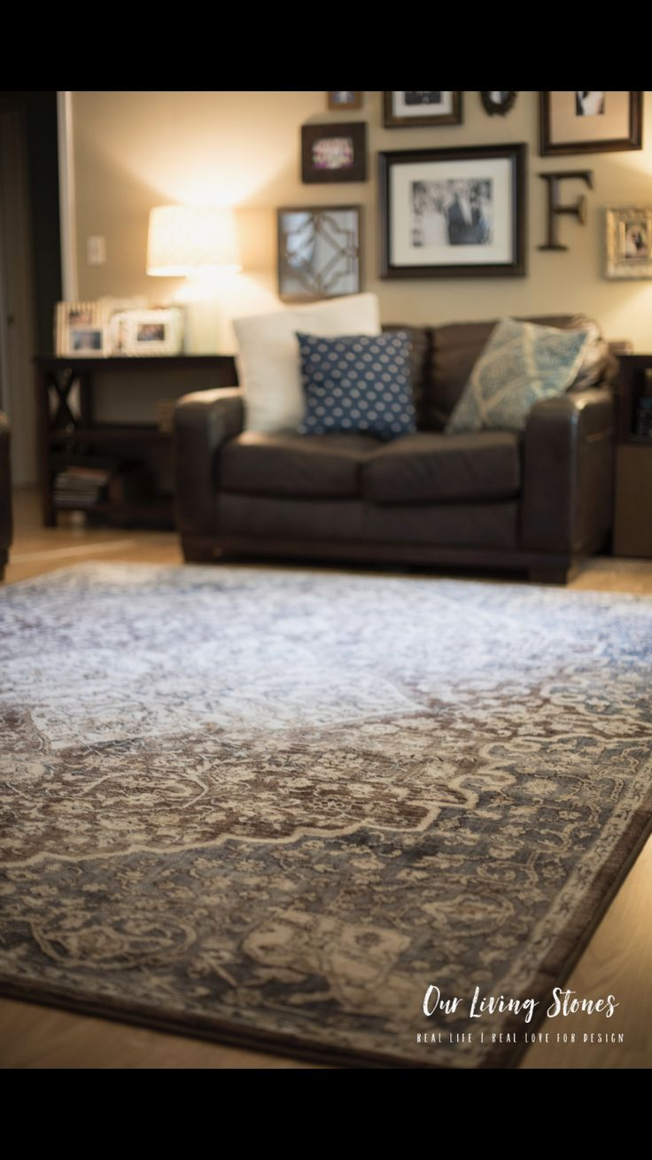 All about our new rug from Lowes Home improvement and why we changed. Check out all the details at OurLivingStones.com