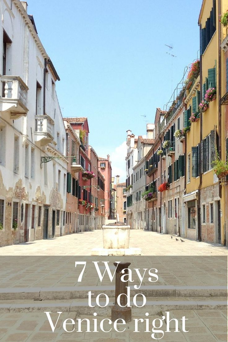 Venice, Italy: How to make the most of your visit and love it! Tips on which sestiere (neighborhood) to stay in, when is the best time to visit, things to do, and more.