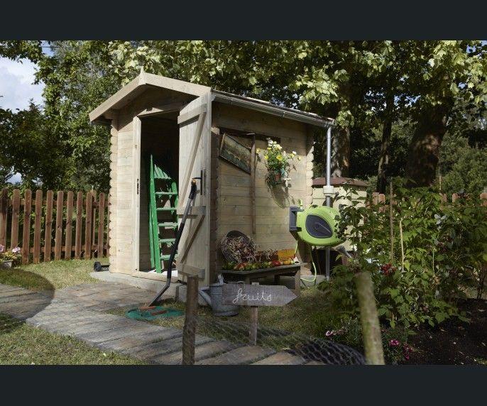 Diaporama un abri de jardin pi ce en plus ou rangement for Cabanon de jardin leroy merlin