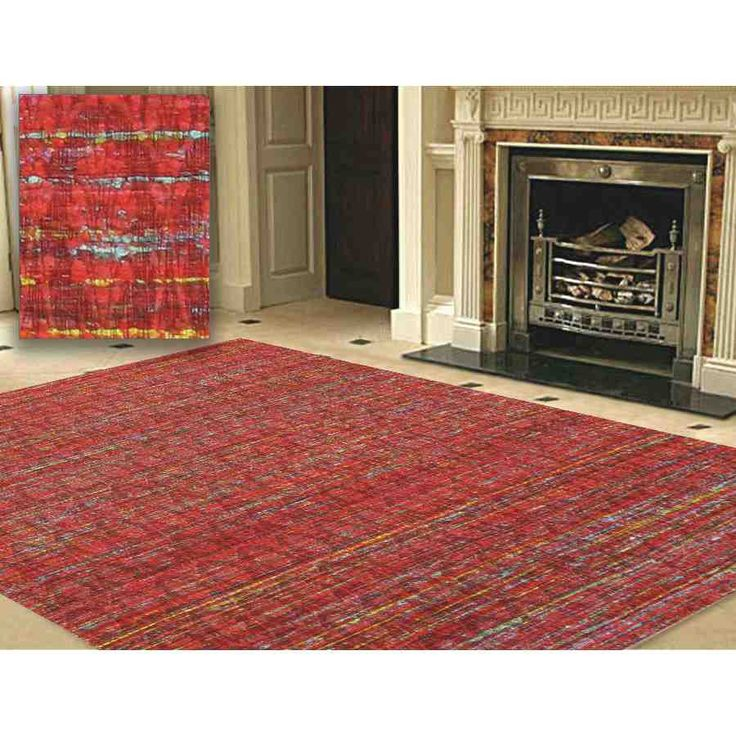 Cheap Red Area Rugs