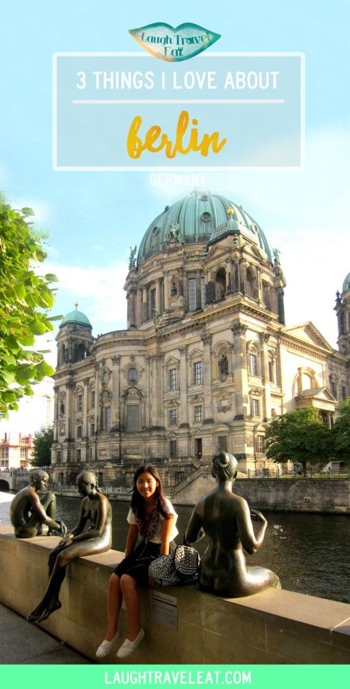 Berlin is one of my favourite cities in the world. With amazing markets, sprawling parks and a great mash of old and new, what's not to like