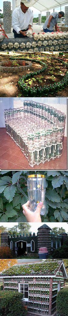 Szklarnia z plastikowych butelek. Master class + wideo | Gospodyni domowa