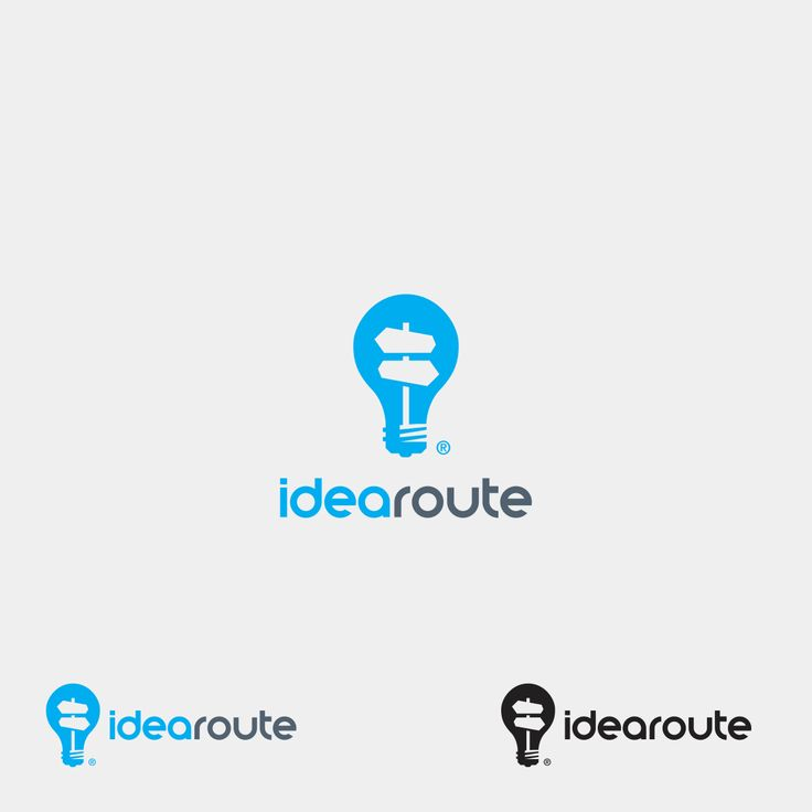 The light bulb acts as the  idea while the filament is a crossroads sign which indicates helping make decisions to turn the idea into reality.