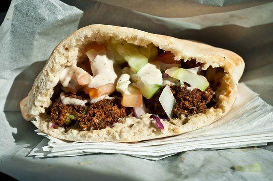 Pita Palace, ATL, GA. The Best falafel ever made!