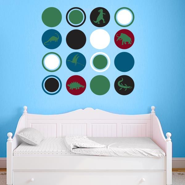 Best Shapes Wall Decals Images On Pinterest Vinyls Modern - 3d dinosaur wall decalsd dinosaurs wall stickers decals boys room animals wall decals