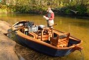 Outdoors Columnist Howard Meyerson features Phil Croff, owner of Croff-craft Custom Driftboats. Croff is a wood boat builder and fishing guide from Alanson, whose boats are now featured by Orvis.