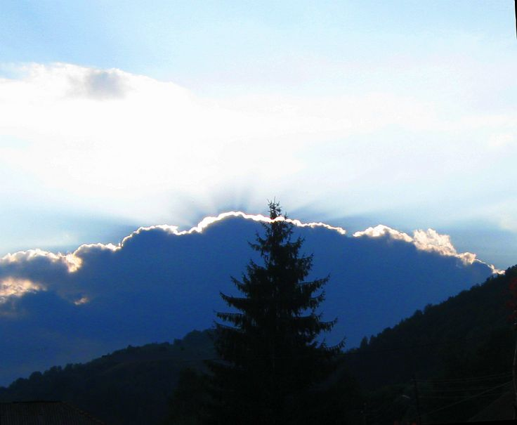 Sunset in Vidra - Apuseni Mountains