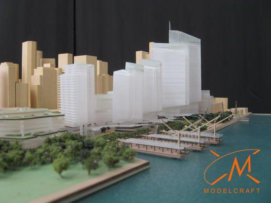1:1500 Architectural Model by Modelcraft (NSW) Pty Ltd