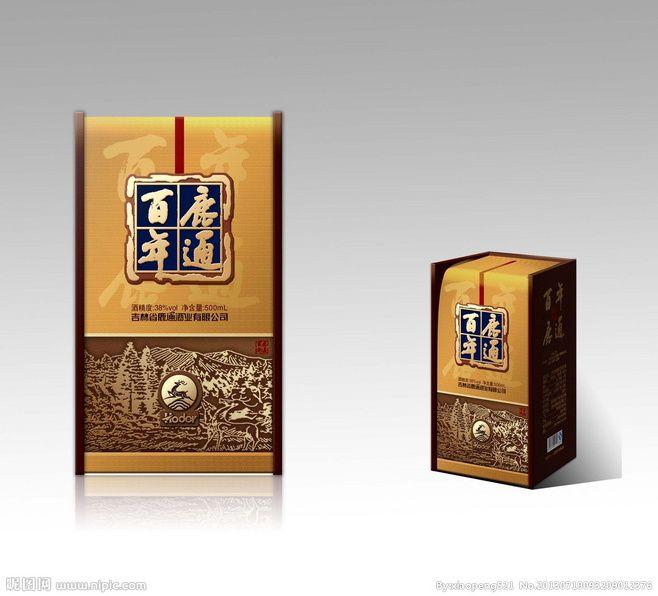 白酒养生酒酒包装@鱼の泪采集到包装造型(1737图)_花瓣平面设计