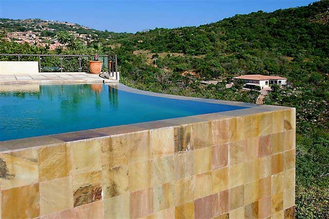 #Sandstone #Tiles Country Cameo #Pool #UnionTiles www.uniontiles.co.za
