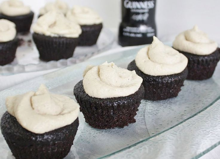 Chocolate Cupcakes with Maple Whiskey Vanilla Frosting [Vegan] | One Green Planet