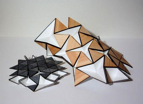 Lampada Origami Di Edward Chew : 641 best folding one images on pinterest color schemes