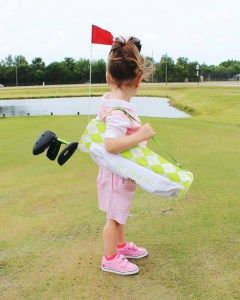 Start Younger, Play Longer: The Littlest Golfer - Oh Happy Play, toddler golf clubs, golf clubs for kids, young golfer, golf, golf clubs, toddler sports