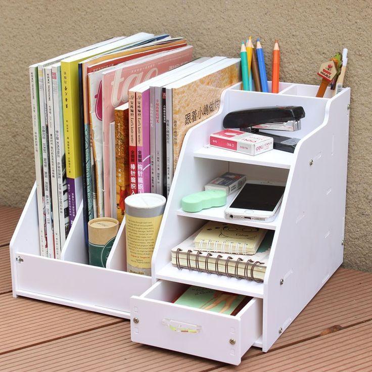 Aliexpress.com : DIY Büro Schulbedarf Schreibtisch Zubehör Veranstalter Dateia…