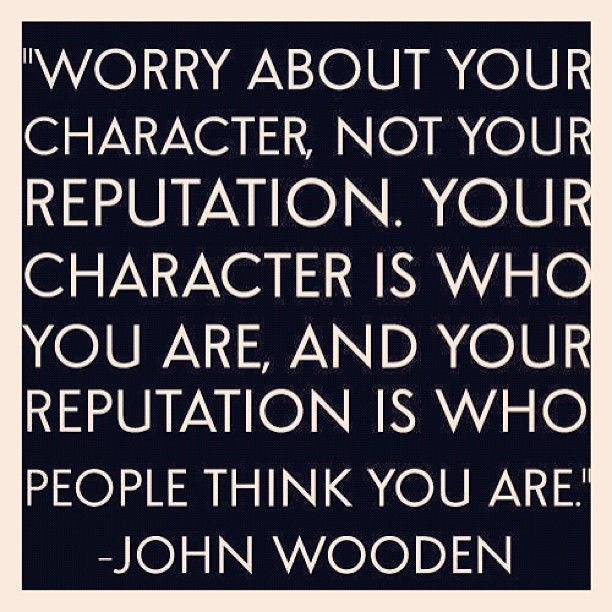 j'adore character  John Wooden quote