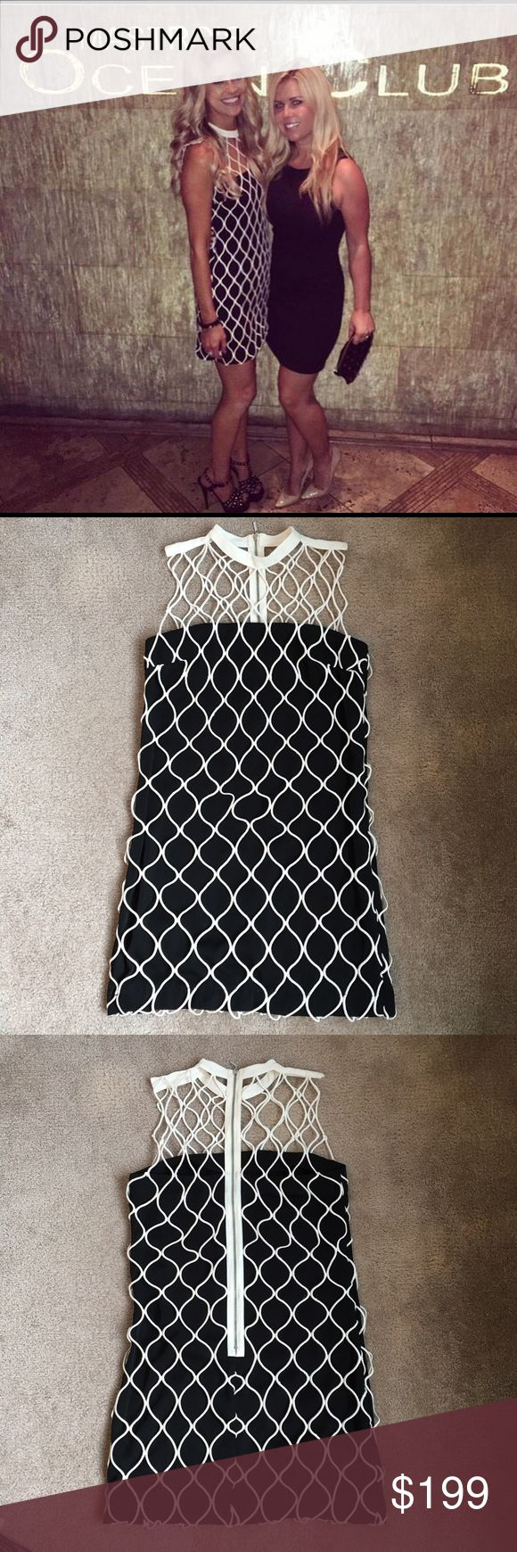 Topshop Cage Dress as seen on Christina El Moussa Topshop Cage Dress as seen on Christina El Moussa . No tags but is a US size 4. Topshop Dresses