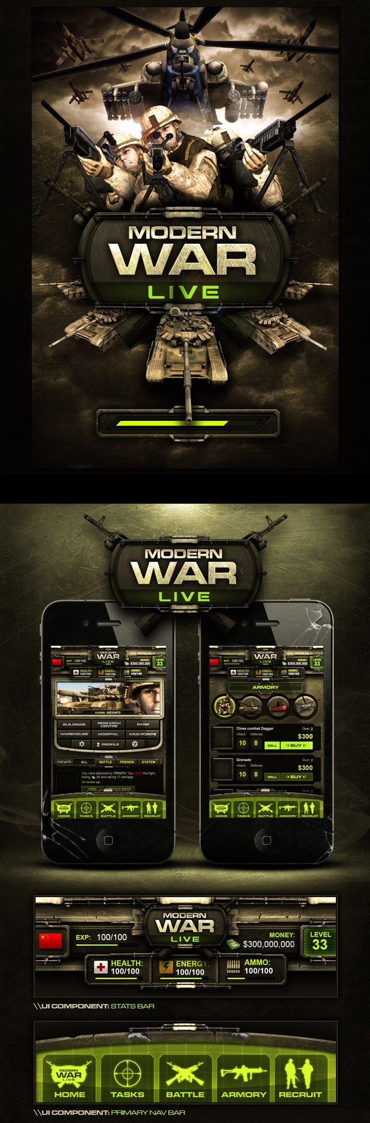 Modern War Live