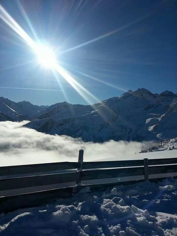 prachtige wintersport weer koningsleite