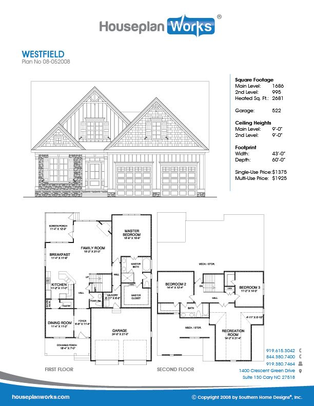Westfield In 2020 Custom Home Plans Types Of Roofing Materials Custom Home Designs