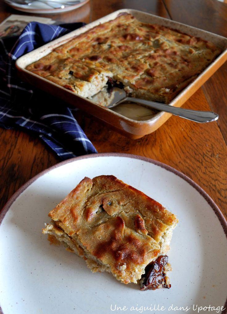 une aiguille dans l' potage: Farz forn gwiniz du ( far de blé noir au four)