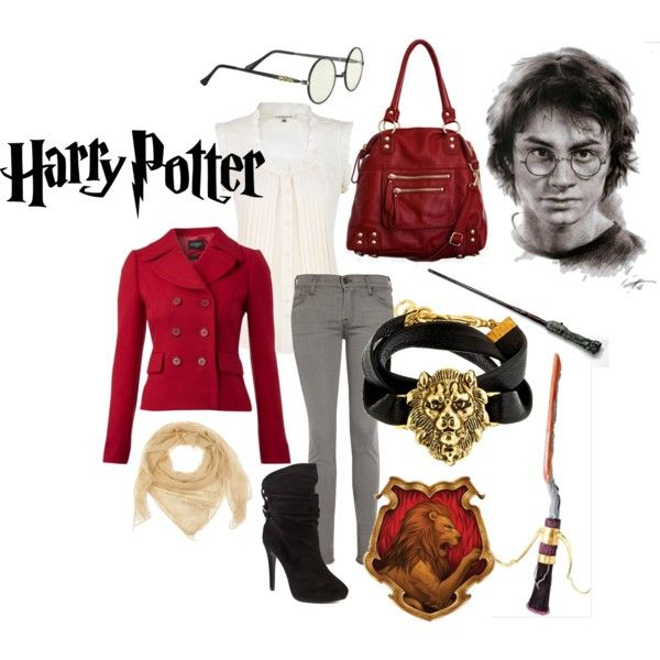 Harry Potter's Outfit, created by calilove31 on Polyvore...yes!