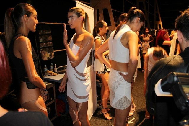 Bless'ed Are The Meek Backstage MBFWA13