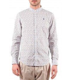 Camicia con fiori J.Johnson bianco