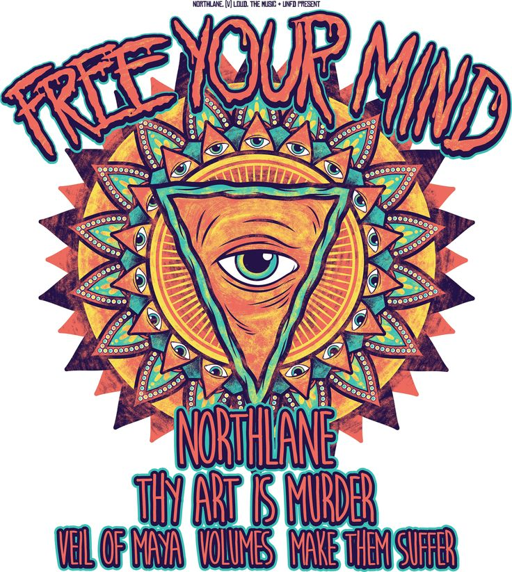 FREE YOUR MIND 2014   graphic design