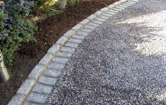 driveway home-garden-landscape