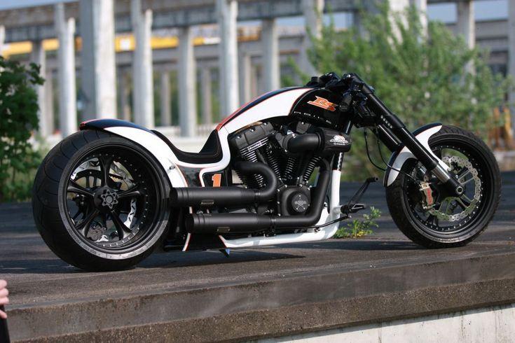 Franks 1st One   Dragster RSR   Thunderbike Harley-Davidson