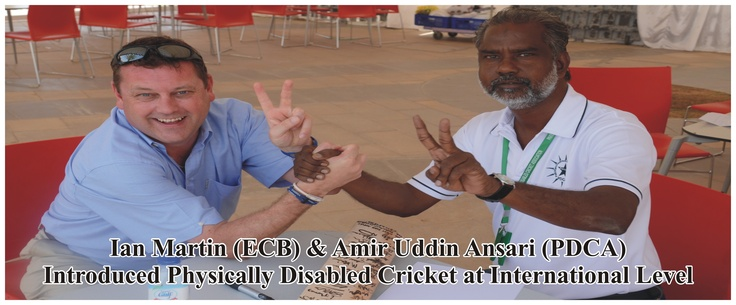 PDCA has introduced disability cricket at National & International Level